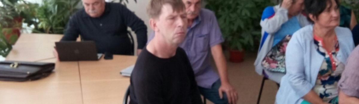 25 июля Липецкое городское отделение Всероссийского общества инвалидов, провела президиум
