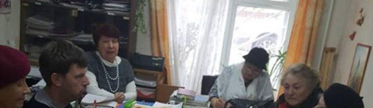1 ноября прошло заседание членов городского правления советского районного отделения Всероссийского общества инвалидов.